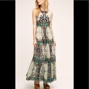 Anthropologie Madera Maxi Dress By Bhanuni
